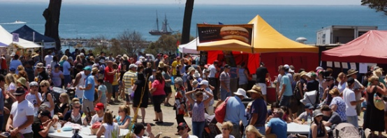 Mussel Festival (photo from Eat Geelong website)