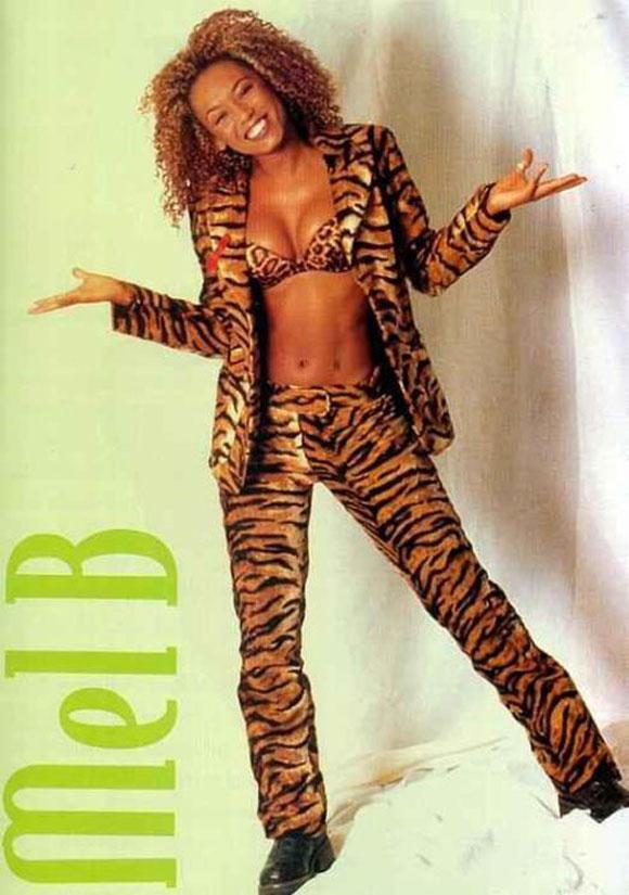 Poster of Melanie Brown - aka Scary Spice / Mel B (1990s)