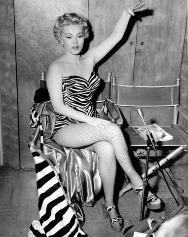 Zsa Zsa Gabor as a Pin-up Girl (1954)